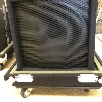 Yorkville 100B Bass Amplifier & Rolling Storage Case for sale