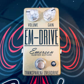 Emerson EM-Drive Limited Edition Transparent Overdrive Gold