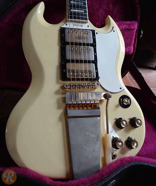 Gibson SG Custom 1965 White Price Guide | Reverb