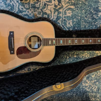 Peerless PD 75E Acoustic-Electric guitar 2019 (?) Natural for sale