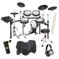 Roland TD-30K V-Pro Electronic Drum Set - Drum Essentials Bundle