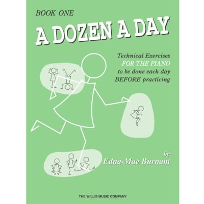 A Dozen a Day: Technical Exercises for the Piano - Book One