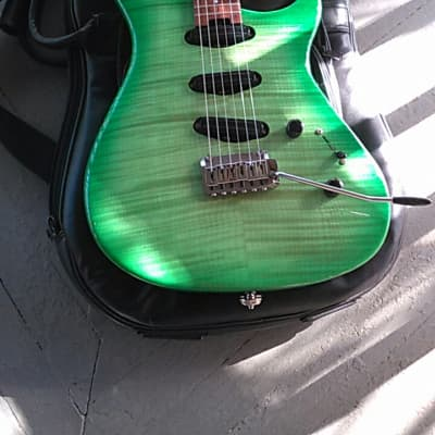 Modulus Genesis G2T 1998-2000s Lime Green Flame Top for sale