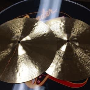 """Paiste 14"""" Signature Dark Crisp Hi-Hat Cymbals (Pair) Traditional"""