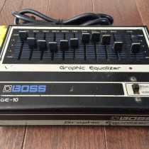 Boss GE-10 Graphic EQ 1980s Black image