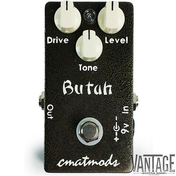 cmat mods butah low gain overdrive guitar effects pedal reverb. Black Bedroom Furniture Sets. Home Design Ideas
