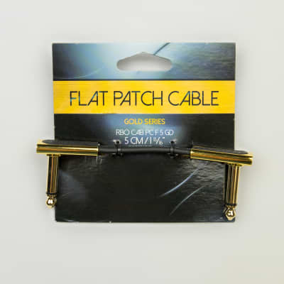 """RockBoard Gold Series Flat Patch Cable 5cm (1 15/16"""")"""