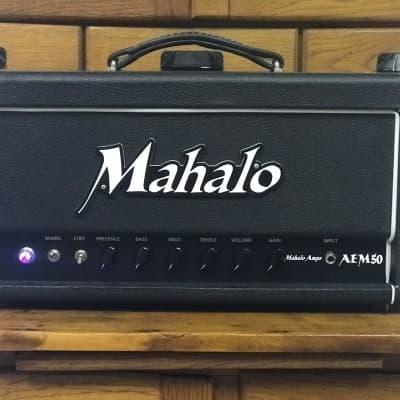 Mahalo Amplification Standard Series Hand Wired AEM50 Head 2019 Black