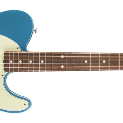 Fender Vintera '60s Telecaster Modified PF Pau Ferro Fingerboard Lake Placid Blue