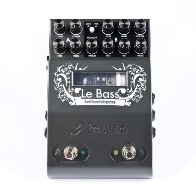 Two Notes Le Bass Preamp pedal 2017 black image