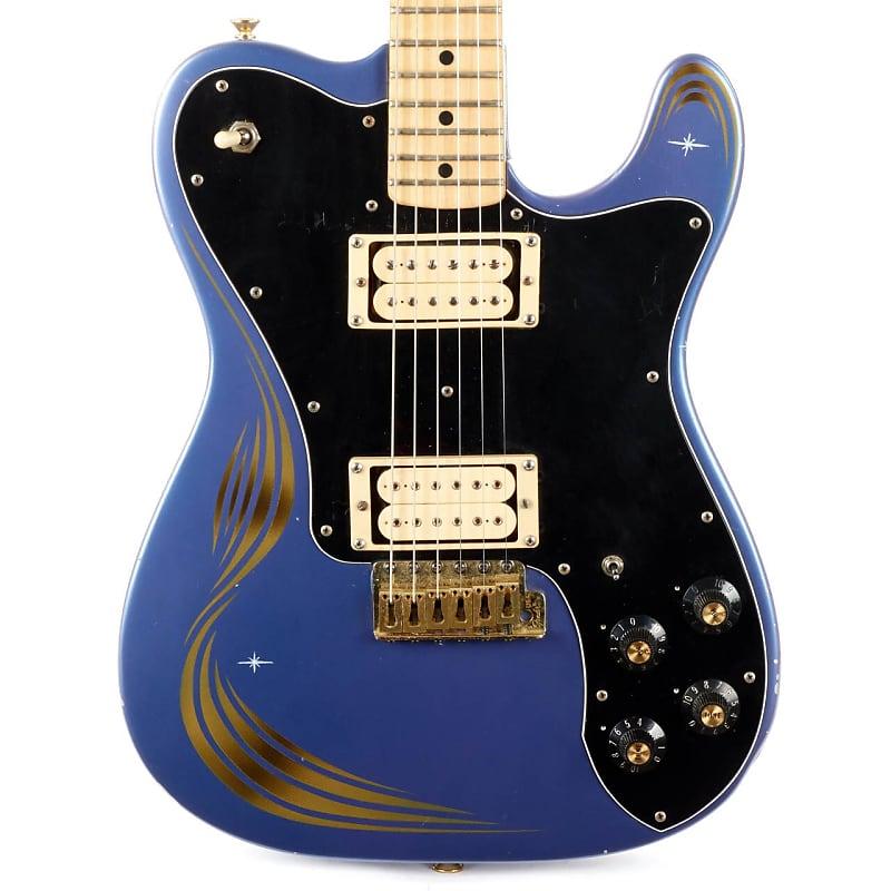 1974 Fender Telecaster Deluxe Blue Refin