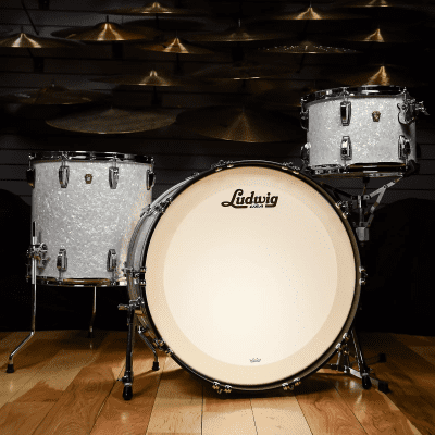"""Ludwig Classic Maple Pro Beat Outfit 9x13 / 16x16 / 14x24"""" Drum Set"""