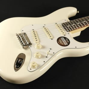 Fender American Standard Stratocaster - Rosewood Fingerboard - Olympic White 0113000705 (405) for sale