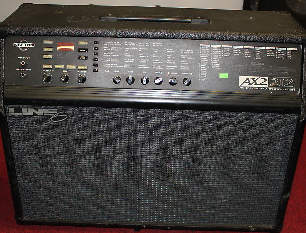 line 6 axsys ax2 212 digital modelling guitar amplifier reverb. Black Bedroom Furniture Sets. Home Design Ideas