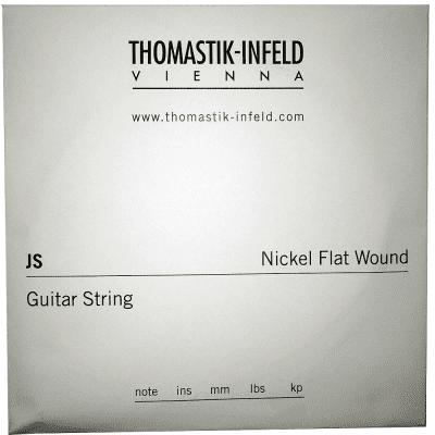 Thomastik-Infeld JS21 Jazz Swing Nickel Flat-Wound Guitar String - G (.21)