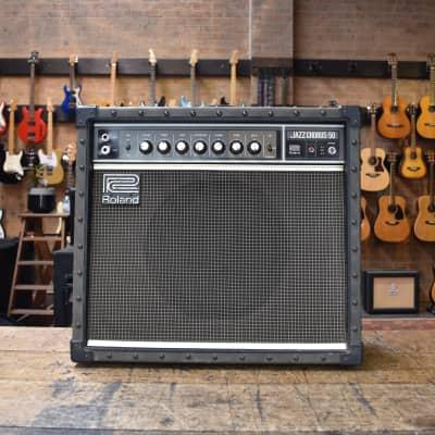 "Roland JC-50 Jazz Chorus 50-Watt 1x12"" Guitar Combo"