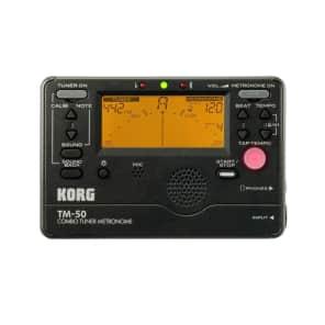 Korg TM- 50 BK Combo Tuner/Metronome