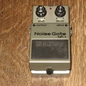 Boss NF-1 Noise Gate Guitar Effect Pedal 1984 Black Label Vintage MIJapan Roland