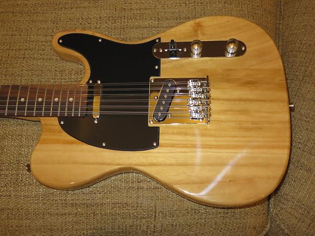 custom cozart natural 12 string tele style electric guitar reverb. Black Bedroom Furniture Sets. Home Design Ideas