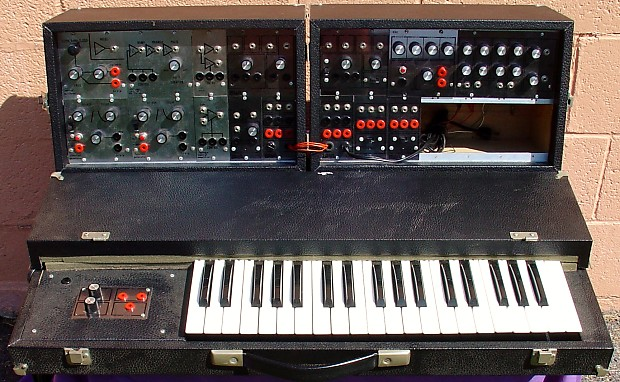 vintage paia 4700 modular analog synthesizer with keyboard reverb. Black Bedroom Furniture Sets. Home Design Ideas