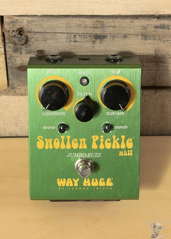 way huge swollen pickle jumbo fuzz mkii pedal reverb. Black Bedroom Furniture Sets. Home Design Ideas