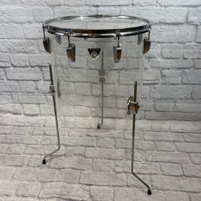 "Ludwig No. 632 Vistalite Combo 16x16"" Floor Tom 1978 - 1980"