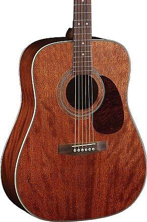 3907029664 Cort Earth Series Earth70 Acoustic Guitar, Solid Mahogany Top, Open Pore