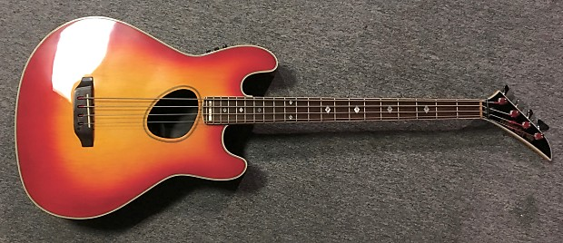 kramer ferrington acoustic electric bass guitar 1987 88 reverb. Black Bedroom Furniture Sets. Home Design Ideas