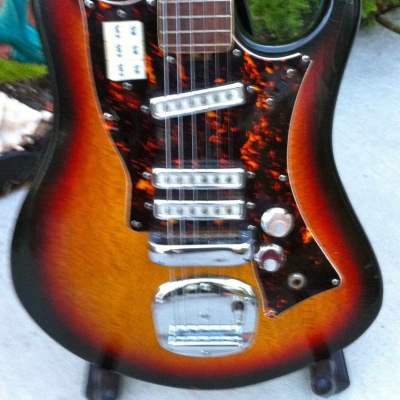 Rare Vintage  Japanese Made 1970 Guyatone/Norma/Noble Model TV993 Japanese Made W/OHSC for sale