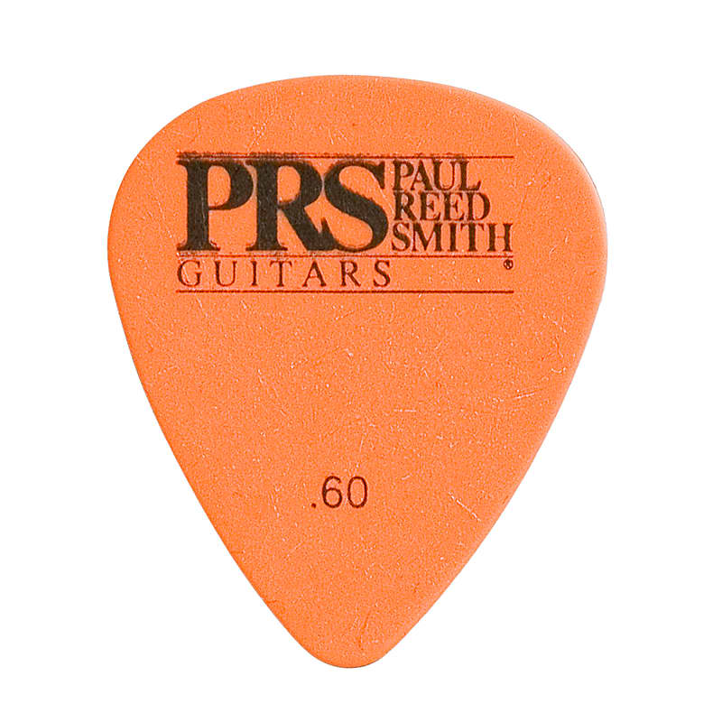 Paul Reed Smith PRS Orange Delrin .60mm Guitar Picks (12 Pack)
