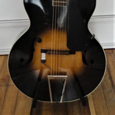 S.S. Stewart Acoustic Archtop c1940 sunburst for sale