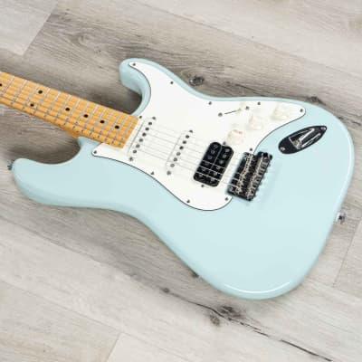 Suhr Classic S HSS Electric Guitar Maple Fingerboard SSCII Sonic Blue w/ Gig Bag