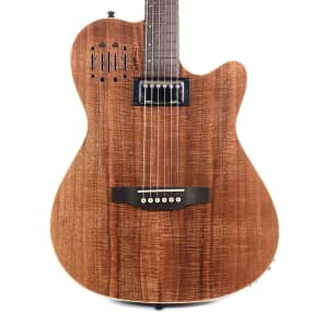Godin A6 Ultra Koa HG Limited Edition Semi-Hollow High-Gloss Natural