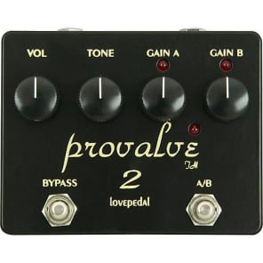 Lovepedal ProValve 2 Dual Distortion Pedal