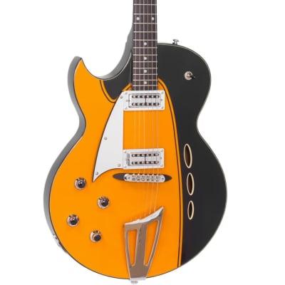 Backlund Rockerbox II LH Semi-Hollow Maple Body Mahogany Neck Soft C Shape 6-String Electric Guitar for sale
