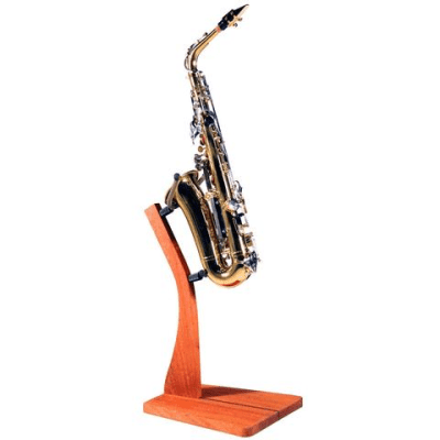 Zither Music Company Wooden Saxophone Stand