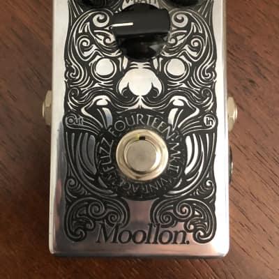 Moollon Fuzz Face Fuzz 14 Silicon BC108 Dallas arbiter for sale