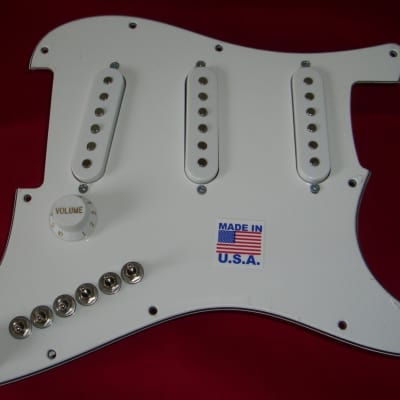 Loaded Fender Player Stratocaster SSS Upgrade (w) Gives You 35 Blues Jazz Metal Surf Country Tones