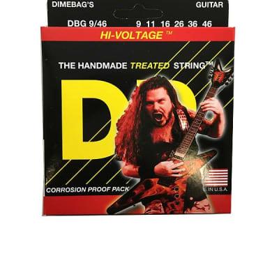 DR Guitar Strings Electric Dimebags Hi-Voltage 09-46