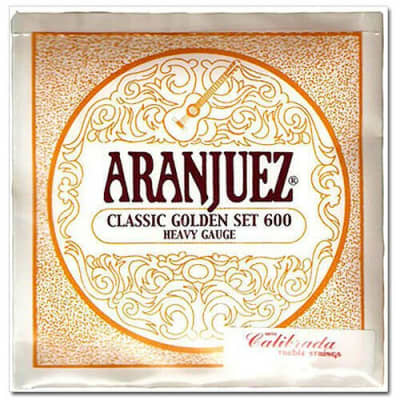 Aranjuez Classic Golden 600 HT Classical Guitar Strings for sale
