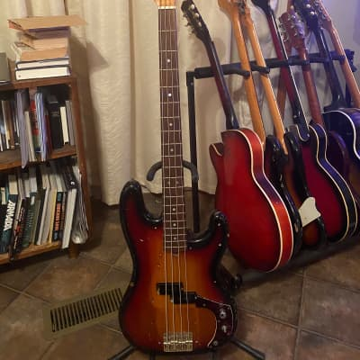 Ventura Precision Bass Sunburst 1970's for sale