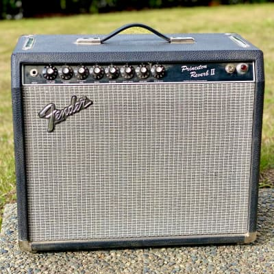 1983 Fender Princeton Reverb II Rivera Era 2-Channel 22-Watt 1x12