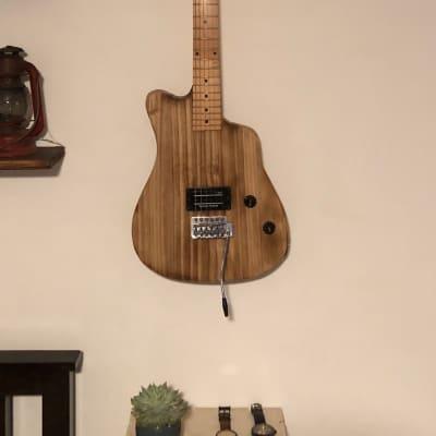 Custom Built Guitar Custom Cutaway  Natural Wood
