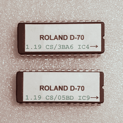 roland corrupted main board firmware upgrade