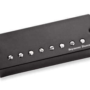 Seymour Duncan Nazgûl\Sentient 8-String Pickup Set Black Cover 2016