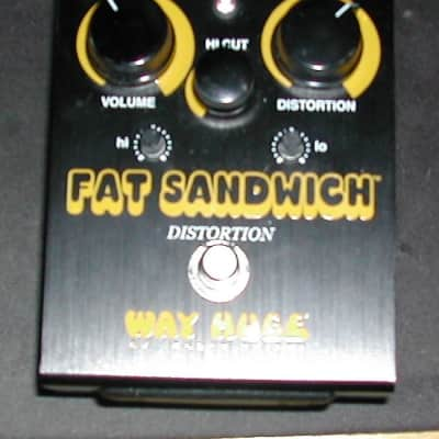 Way Huge WHE301 Fat Sandwich Distortion Limited Edition Black  black