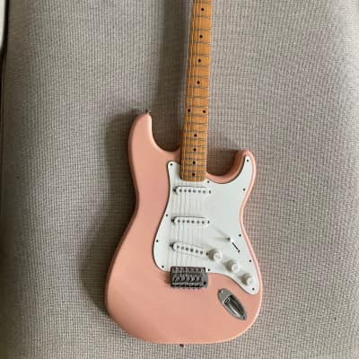 Maya Stratocaster Electric Guitar 1970s Shell Pink for sale