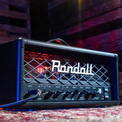 Randall RD45H Diavlo 2-Channel 45-Watt Tube Guitar Amp Head (B-Stock)