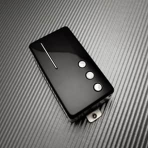 Railhammer Cleancut Humcutter neck humbucker sized P90 - black