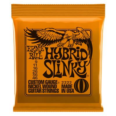 Ernie Ball Hybrid Slinky Nickel Wound Electric Strings
